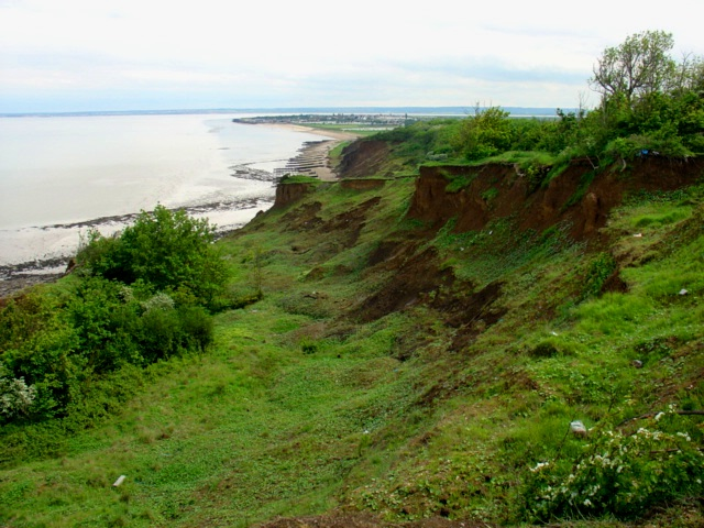 Sheppey Cliffs and Foreshore coastline