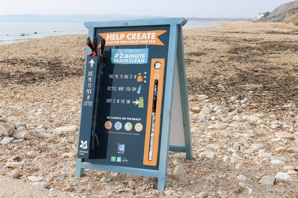 Litter Free Coast and Sea campaign