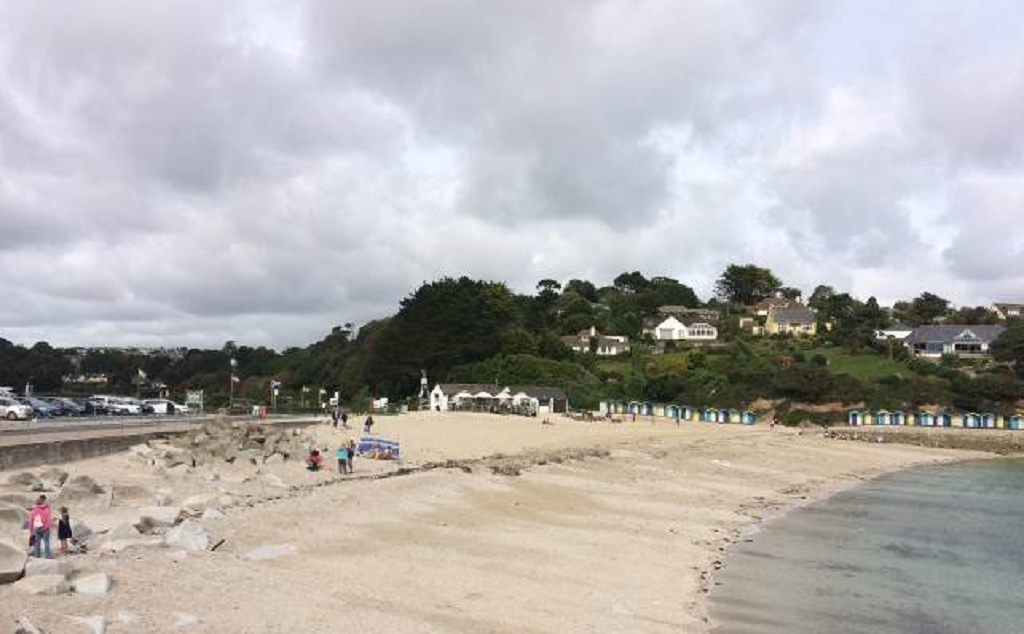 Swanpool Beach, near Falmouth