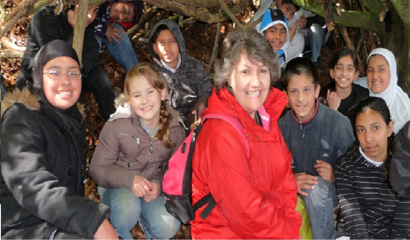 Teachers get as much from outdoor learning as pupils do