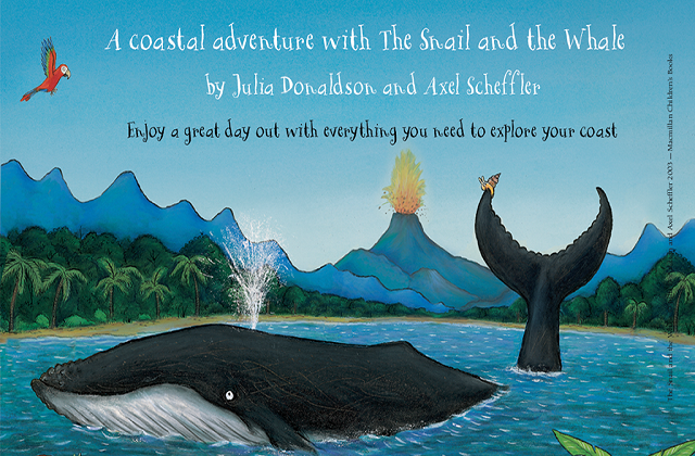 Go Adventuring With The Snail And The Whale Natural England